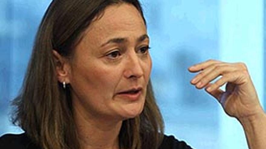 La secretaria de Estado de Empleo, María Luz Rodríguez.