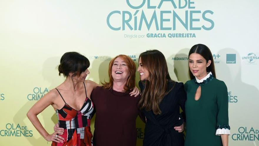 """Gracia Querejeta cambia los roles masculinos en la comedia """"Ola de crímenes"""""""