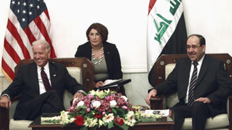 El primer ministro de Irak, Nuri al Maliki