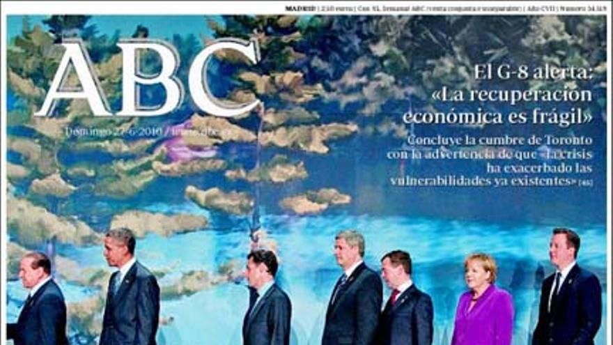 De las portadas del día (27/06/2010) #1