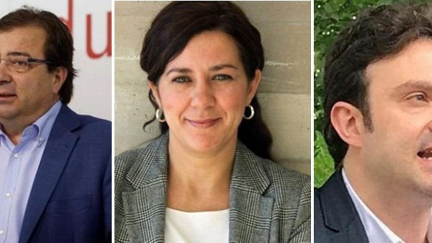 Candidatos a las primarias del PSOE de Extremadura