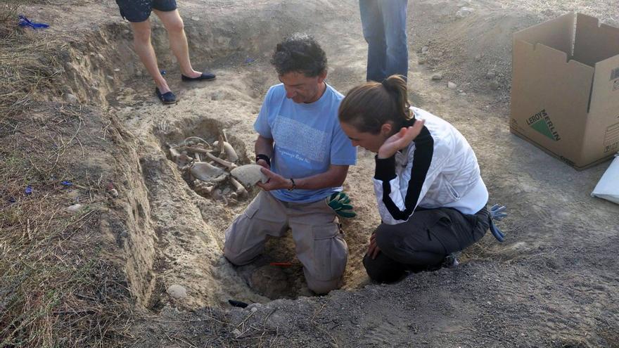 La exhumación se llevó a cabo el pasado fin de semana.