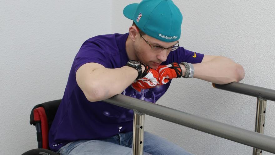 Carlos Romero en rehabilitación
