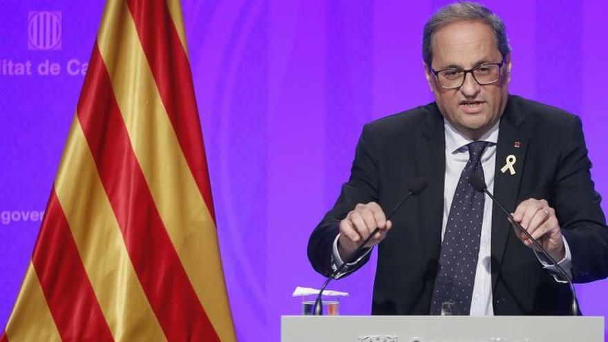 """Torra pide recuperar la figura del 'relator' para dialogar """"sin condiciones"""""""