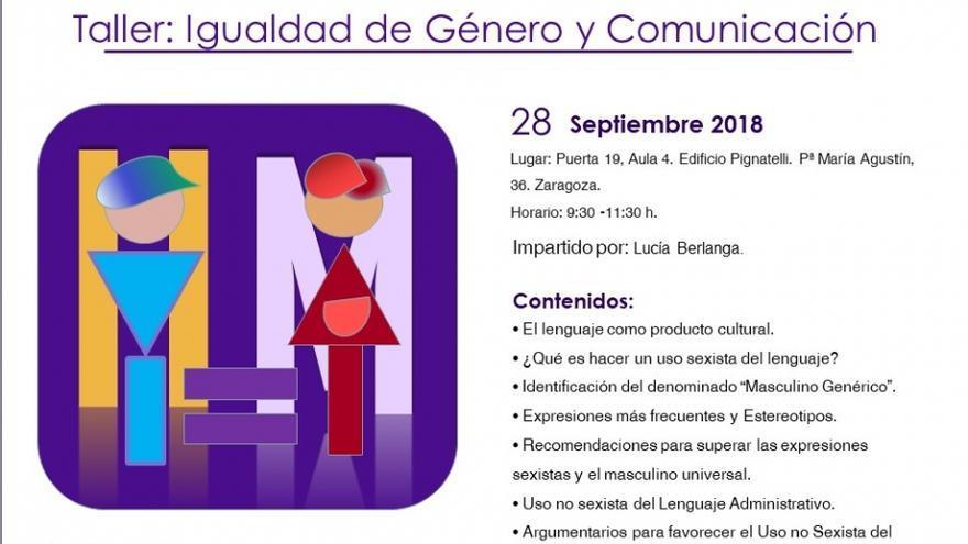 La formación tendrá lugar el próximo 28 de septiembre