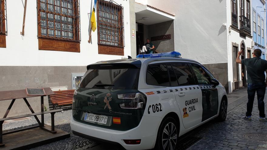 Imagen de archivo del edificio judicial de Santa Cruz de La Palma.