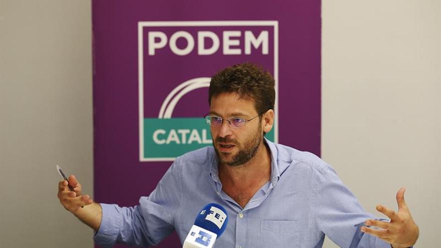 """Fachin confía en lograr más autonomía para Podem sin librar una """"lucha"""" en Madrid"""