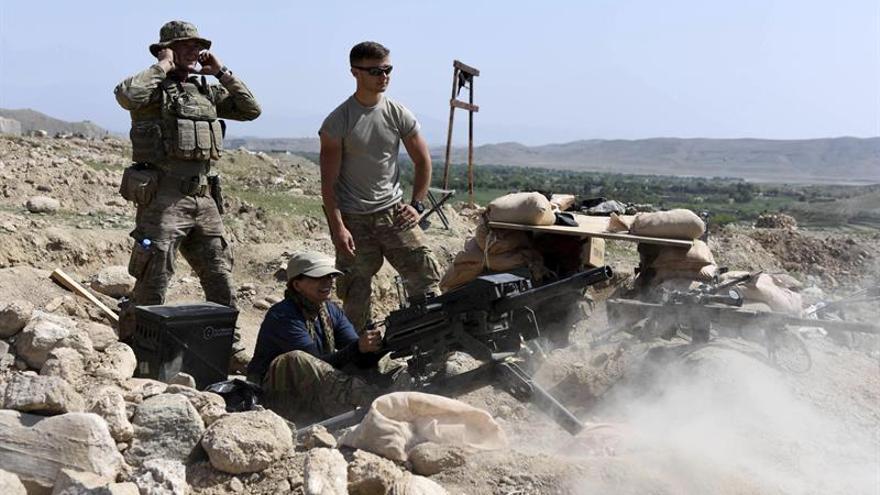 Dos soldados estadounidenses mueren en combates contra el EI en Afganistán