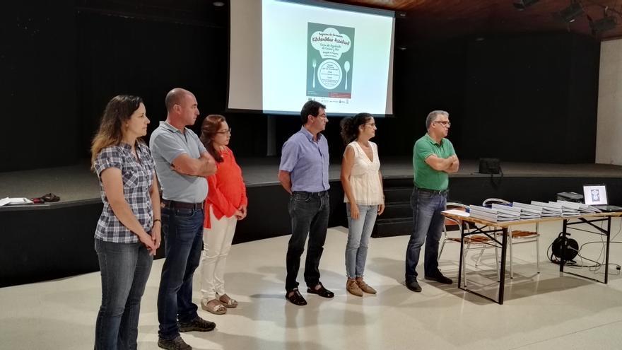 Acto de presentación este lunes en Puntallana.