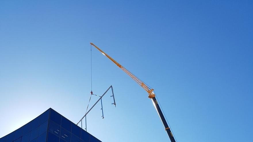 El Gobierno de Navarra instala una estación solar en la azotea del edificio de Fuerte del Príncipe II