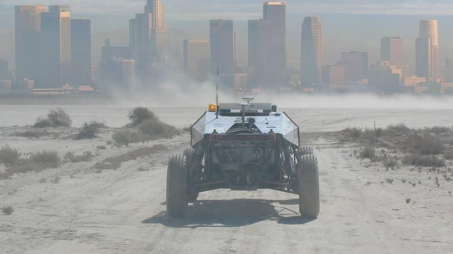 Imagen del Urban Challenge de 2007 (Imagen: Wikipedia)