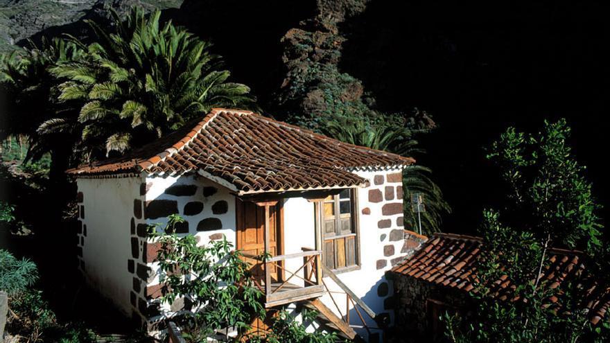 Casa Tradicional en el caserío de Masca. TURISMO DE TENERIFE