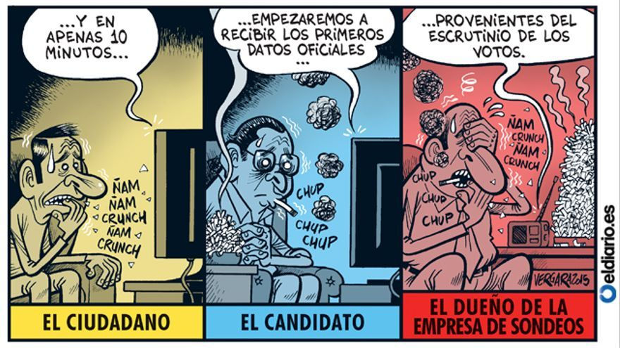 Así pasa la jornada electoral...