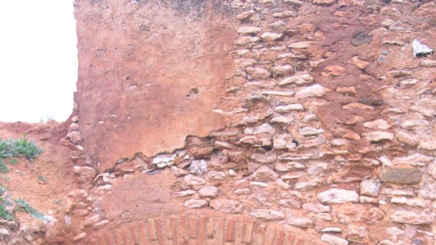 Molino de El Palomar expoliado