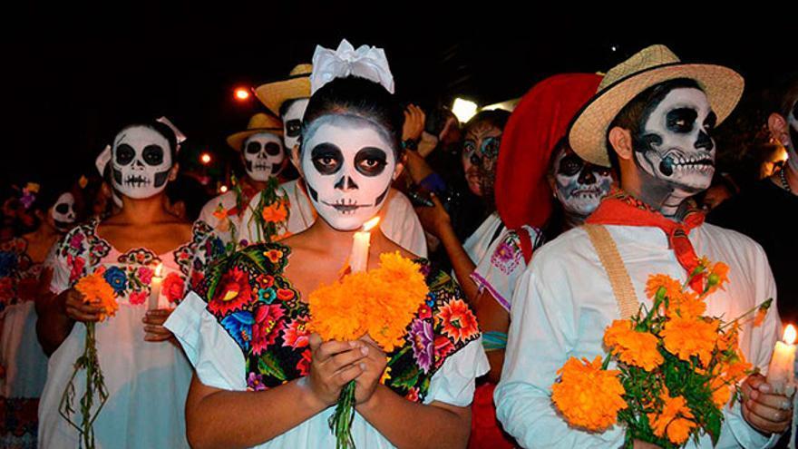 Día de Muertos en México (Halloween)