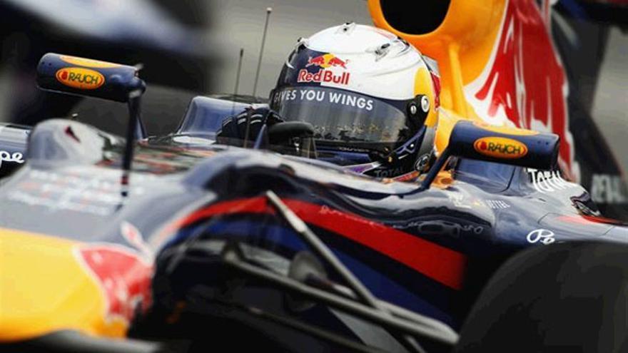 Sebastian Vettel, el más rápido en Montreal. (GETTY IMAGES)