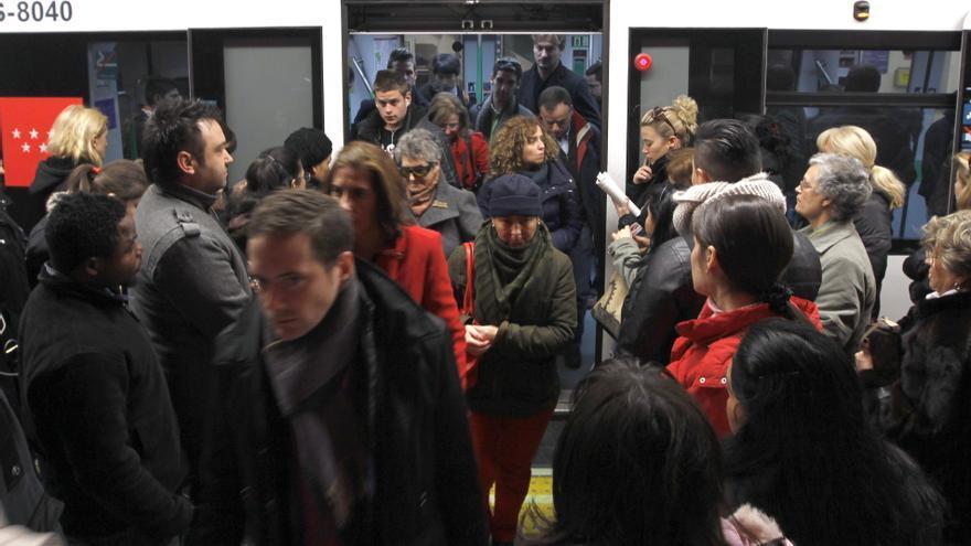 Nueva huelga en Metro de Madrid con el compromiso sindical de cumplir los mínimos