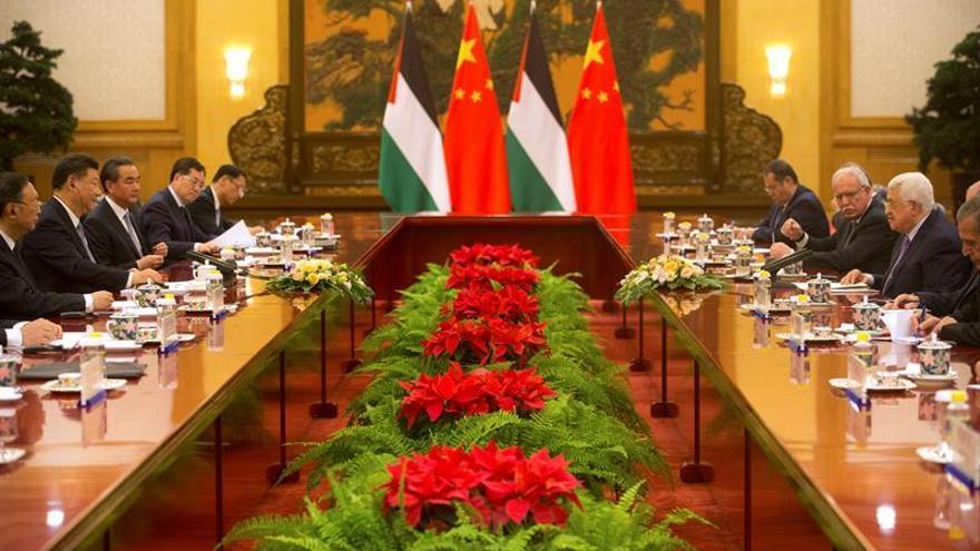 China propone un diálogo trilateral con Israel y Palestina