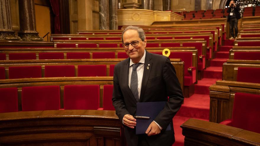 La JEC precisa que sólo inhabilita a Torra como diputado y que no le compete su futuro como presidente de la Generalitat