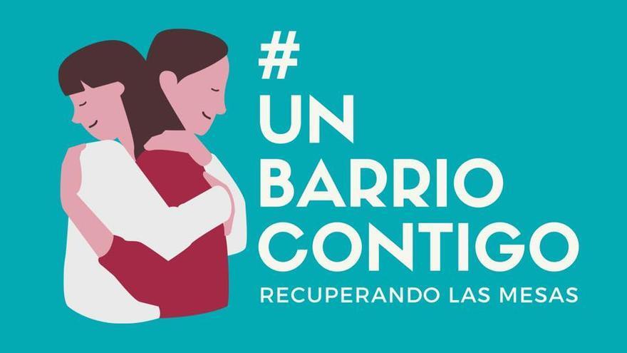 Imagen del proyecto #UnBarrioContigo.