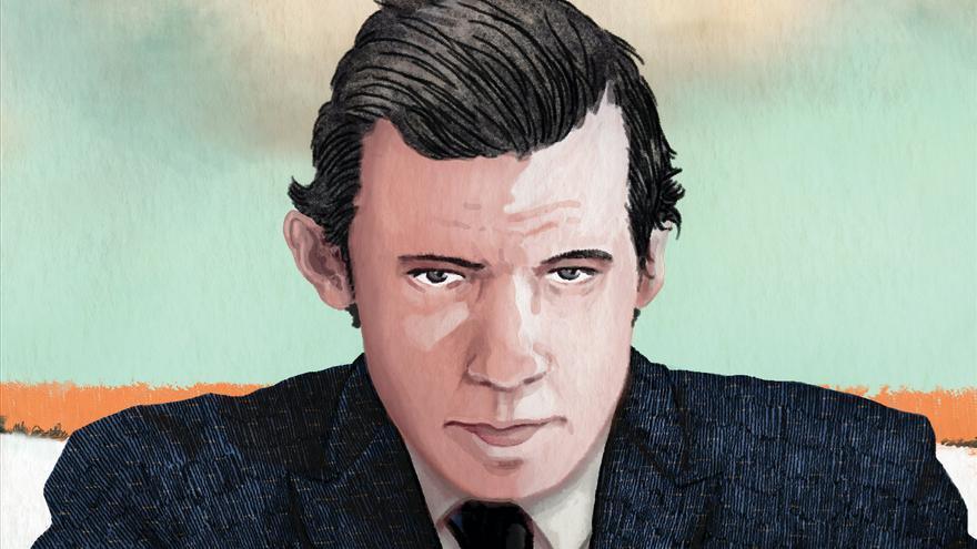 Glenn Gould dibujado por Sandrine Revel