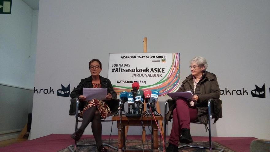 """Familiares de los condenados de Alsasua confían en una respuesta """"inteligente y sabia"""" ante el acto de España Ciudadana"""