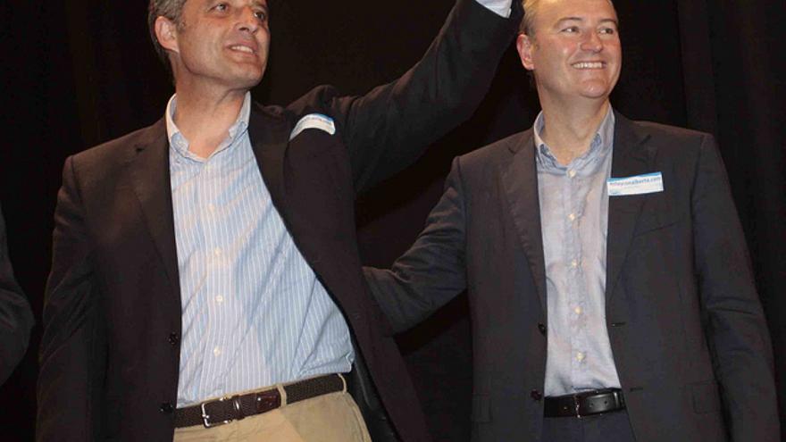Francisco Camps y Alberto Fabra.