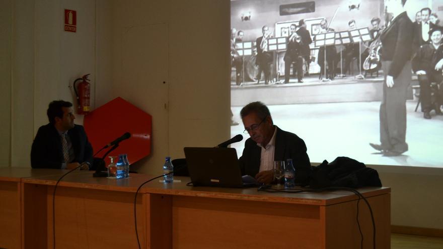 José Luis Pardo, durante la conferencia / N.C.