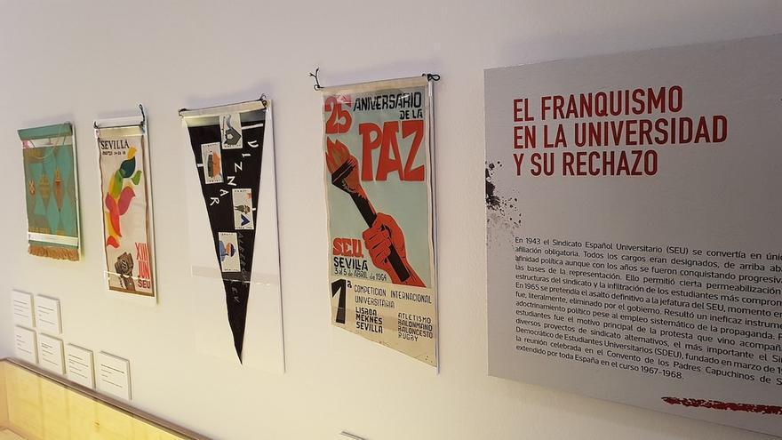 Exposición 'En tiempos Grises… la Universidad se hizo Roja'. | CENTRO DE ESTUDIOS ANDALUCES