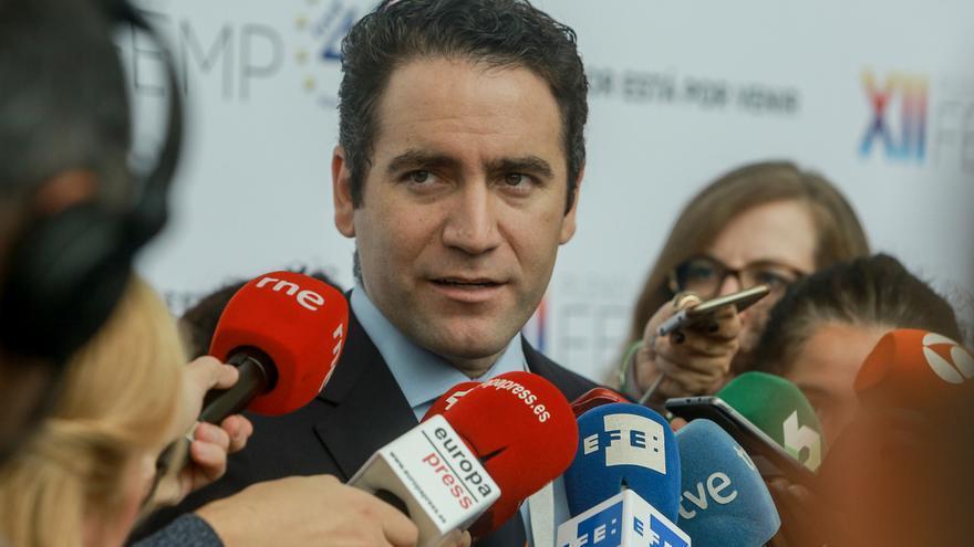 """García Egea afirma que si no hay acuerdo con otros partidos, """"habrá una papeleta de España Suma con el logo del PP"""""""