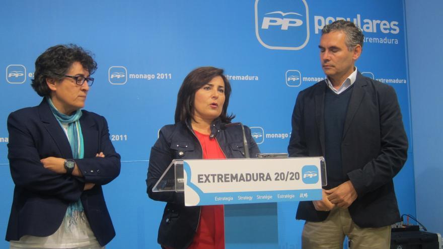 """El PP dice que sus dos años al frente de Extremadura han servido para """"poner orden"""" al """"desbarajuste"""" dejado por Vara"""