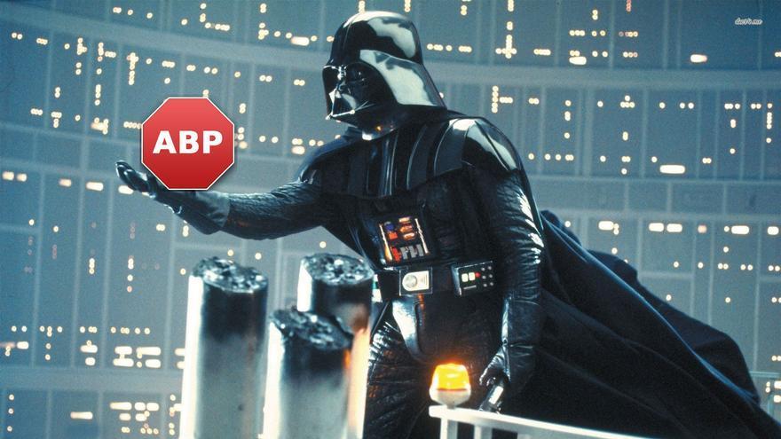 Darth Vader y el Adblock Plus