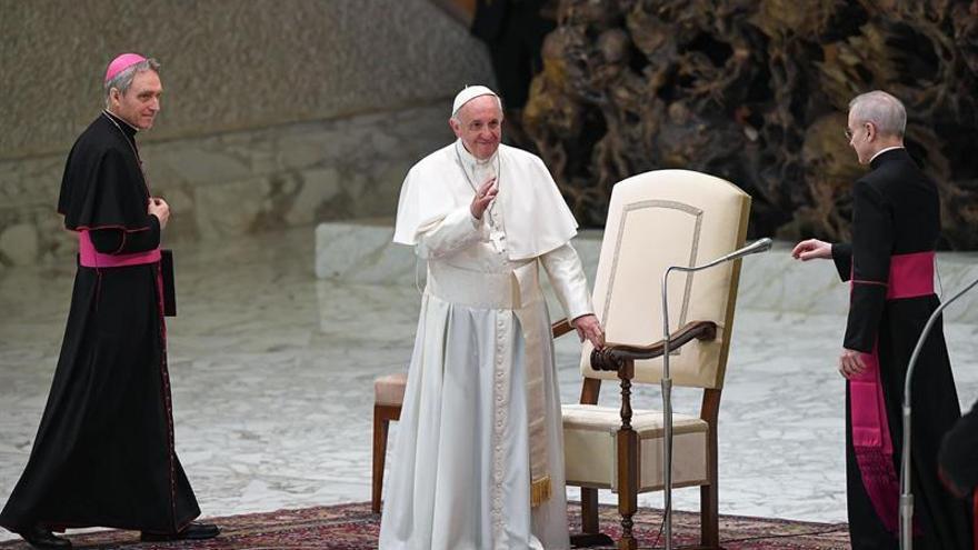 El papa pide esfuerzos para proteger y asistir a las víctimas de trata de personas