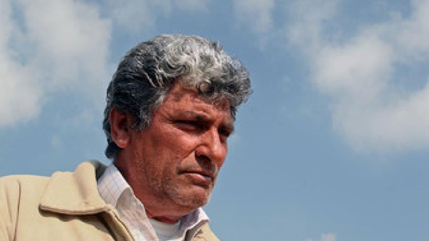 Juan Cortés, abuelo de la pequeña Mª Luz