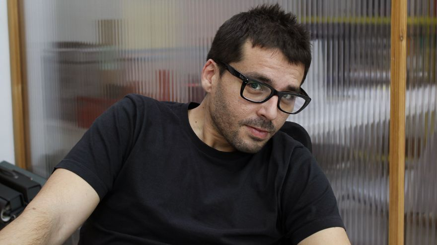 Aitor Rei, director del documental 'Frankenstein-04155' / Boneca Lareta