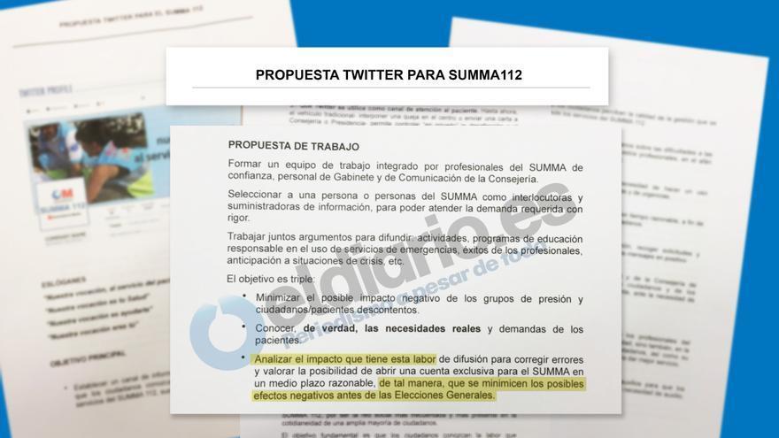 Propuesta de Twitter para Summa 112