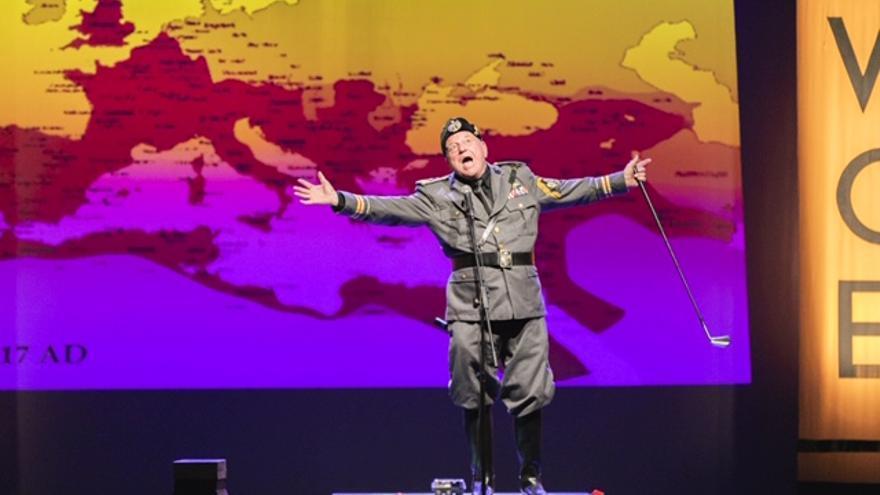 El espectáculo de Leo Bassi 'Yo, Mussolini'