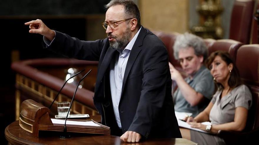 """Ciudadanos quiere que el Congreso condene el """"acoso separatista"""" a los jueces"""