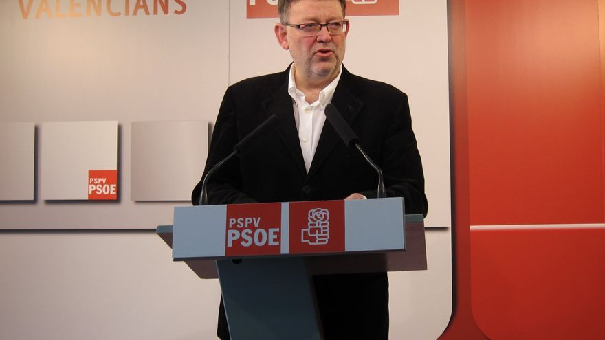 Puig (PSPV)presenta una batería de preguntas en Congreso para conocer la inversión real del Gobierno en Valencia en 2012