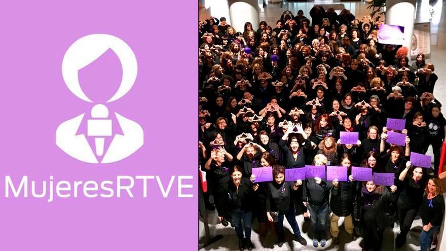 Las Mujeres de RTVE se unen por la igualdad