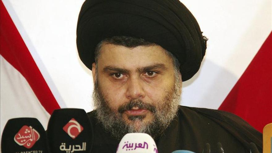 El clérigo radical chií Muqtada al Sadr abandona la vida política en Irak