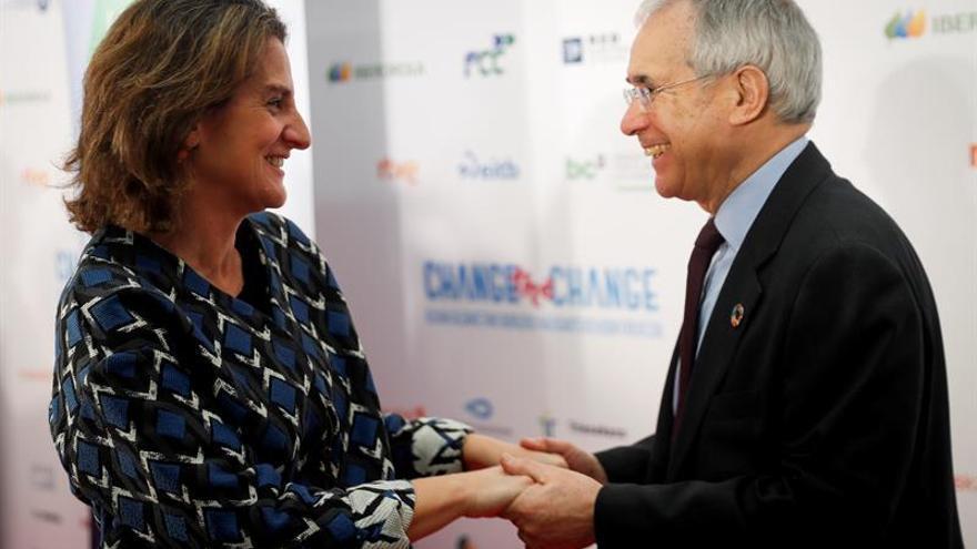 Teresa Ribera:La lucha contra el cambio climático es una carrera contrarreloj