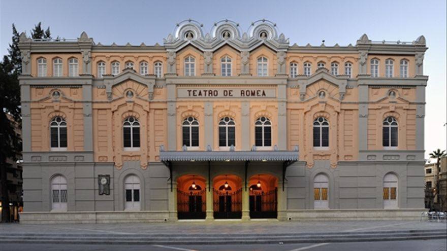 Fachada Teatro Romea de Murcia