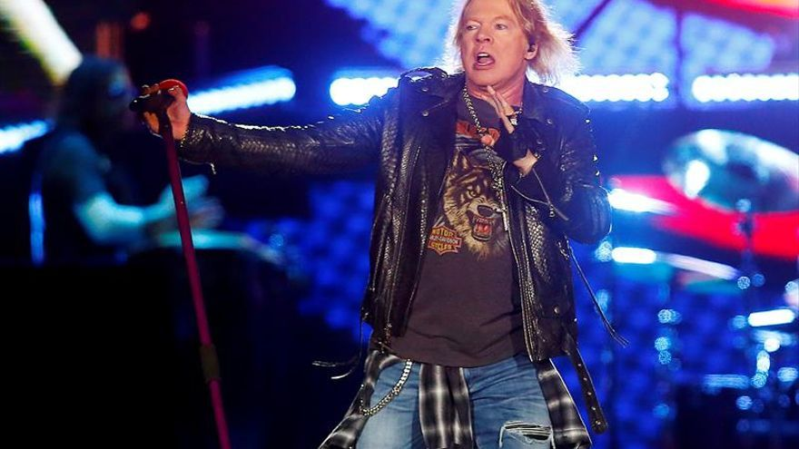 Guns N'Roses actuarán en el Download Festival Madrid en junio de 2018