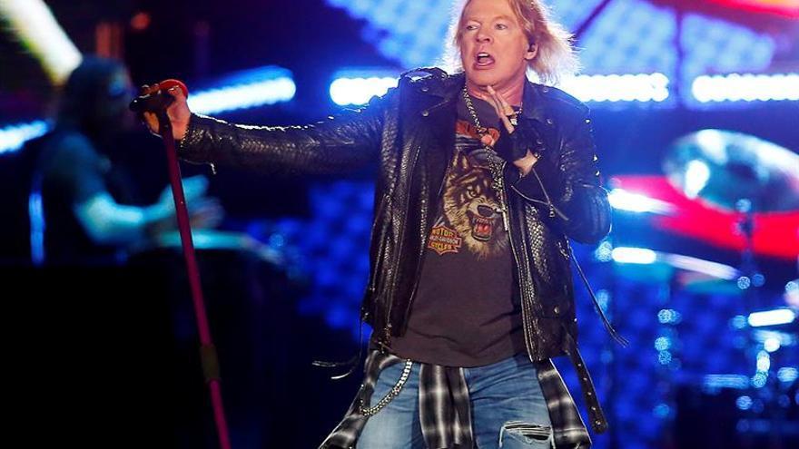 Guns N'Roses actuarán en el Download Festival Madrid en junio de 2018