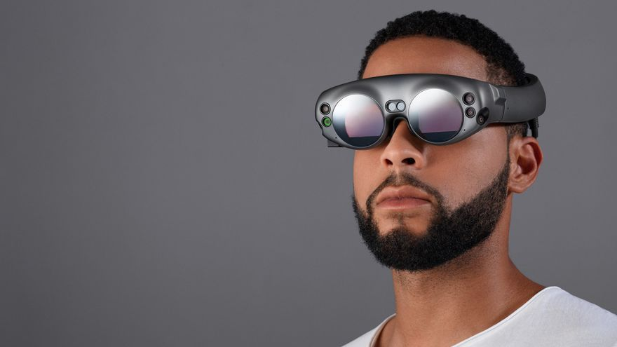 Las gafas de realidad mixta creadas por Magic Leap