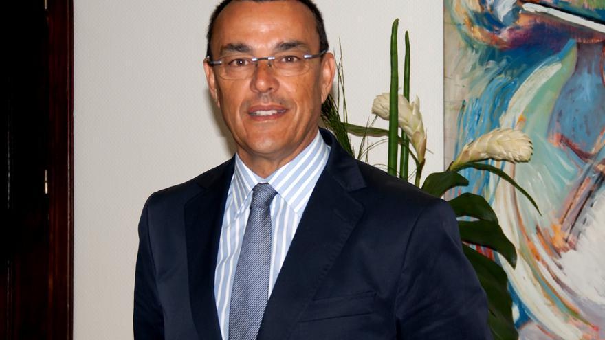 Ignacio Caraballo, presidente de la Diputación de Huelva