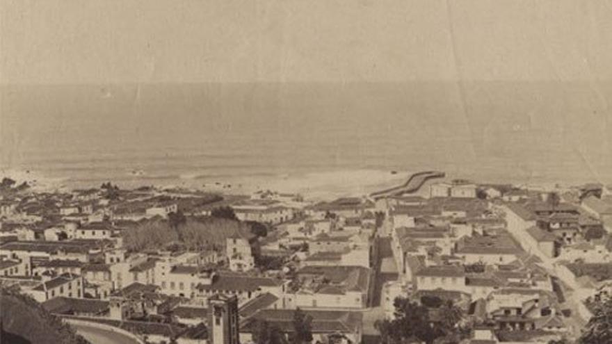 Panorámica del Puerto de la Cruz, 1888.