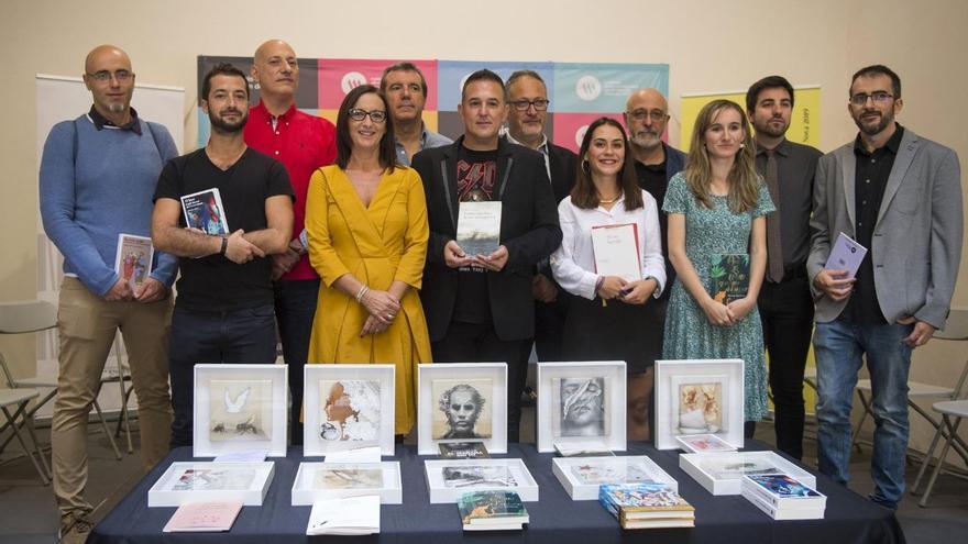 Presentación a la prensa de los ganadores y ganadoras de los Premios València 2019 de la Institución Alfons el Magnànim-Centre Valencià d'Estudis i d'Investigació.
