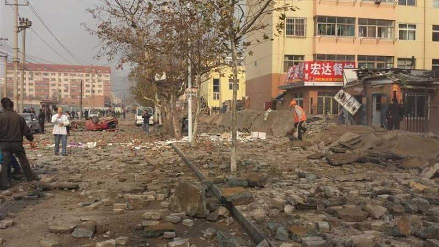 35 muertos y siete heridos en la explosión de un oleoducto en el este chino